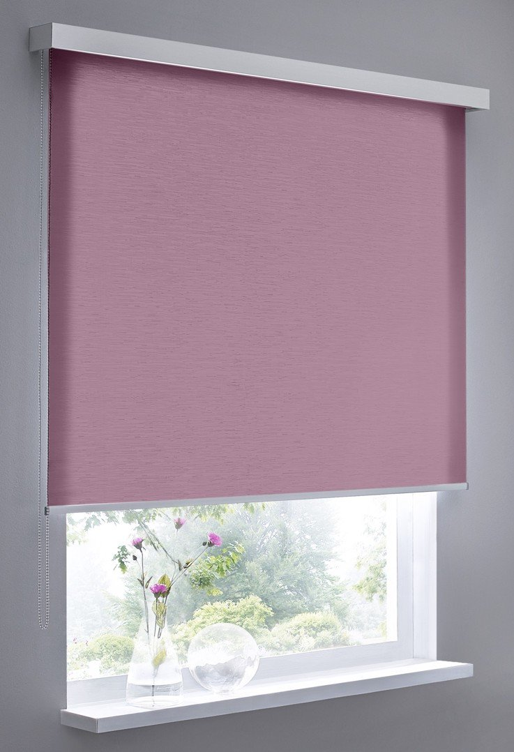 Vidella Blind Structure Wall Mounting 100 cm, Purple/Fuchsia, Cube ST-5 100