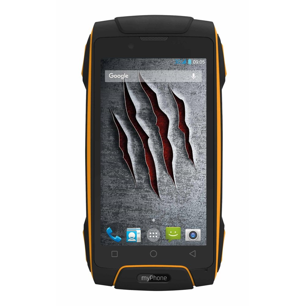449e37e726ed Myphone Hammer Axe M LTE Dual Sim 4 G 16 GB Black  Amazon.co.uk  Electronics