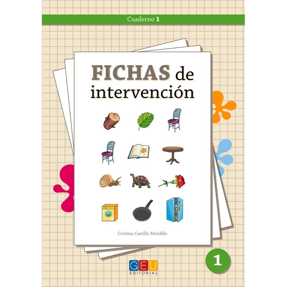 Fichas de intervención 1 / Editorial GEU / Recomendado TDAH ...