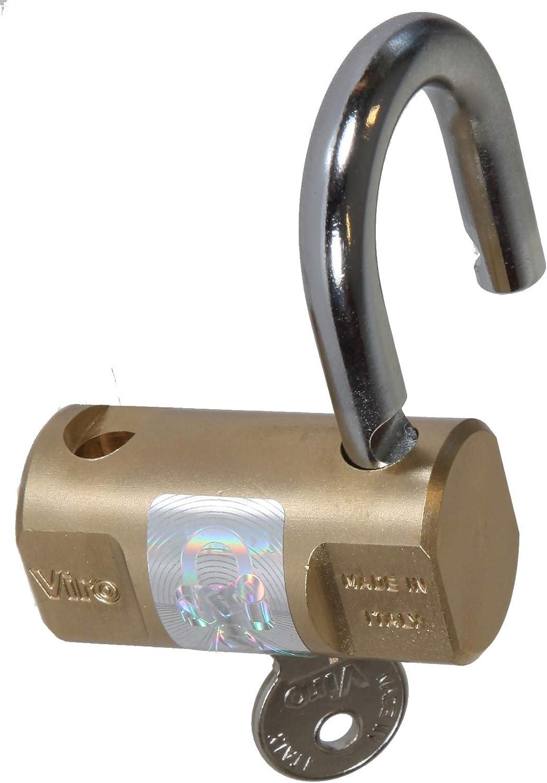 Candado cil/índrico lat/ón base de 60 mm Viro 103