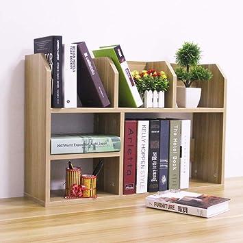 Rart Diy Büro Schreibtisch Organizergroße Kapazität Buch Regal