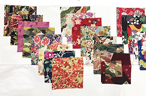 Japanese Asian Quilting Sewing Fabric 40-6 Charm Pack Squares