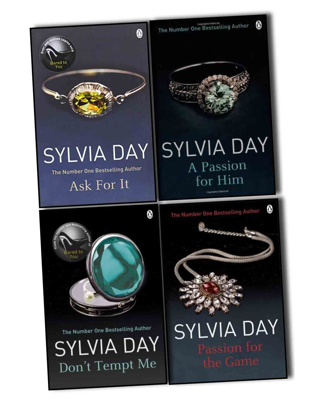 Sylvia Day Georgian Collection 4 Books Pack Set Passion for the ...
