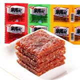 WEI LONG Kiss Burn Qin Zui Shao Spicy Strips Chinese Special Spicy Snacks 10PCS LATIAO - Chuan Flavour