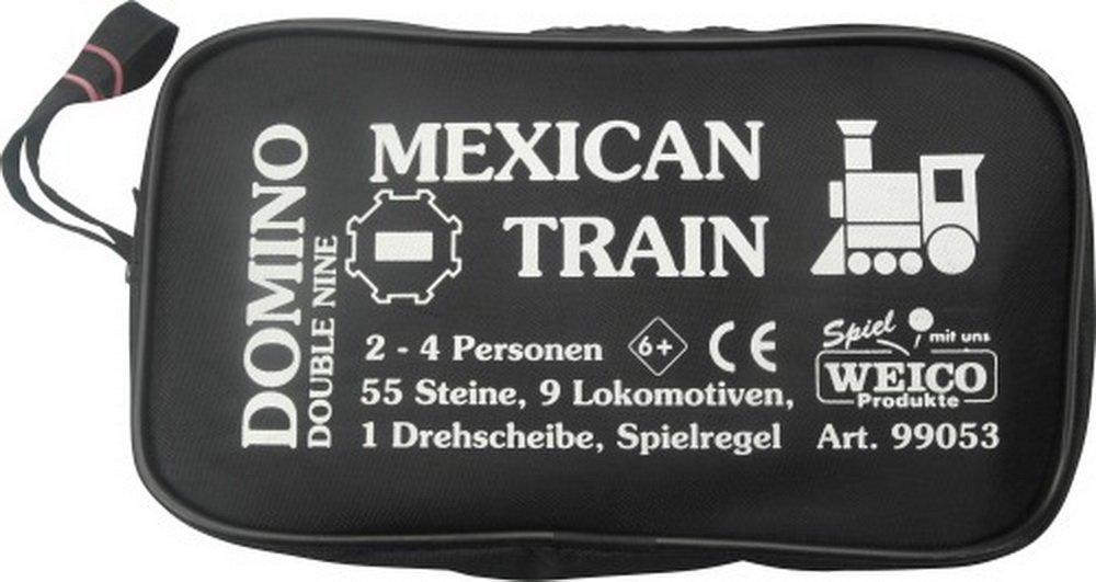 Spiele Weico Produkte 12er Domino in der Reißverschlusstasche Kleinkinder Spielzeug
