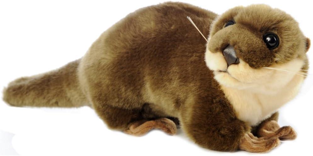 Varios Animales de Peluche, Juguetes de Peluche - Aprox. 20 - 25 cm (Nutria, marrón): Amazon.es: Juguetes y juegos