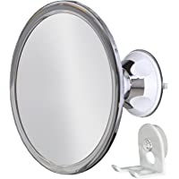Ordinaire 3x Magnification No Fog Shower Mirror With Rotating, Locking Suction |  Ideal Mirror For Grooming