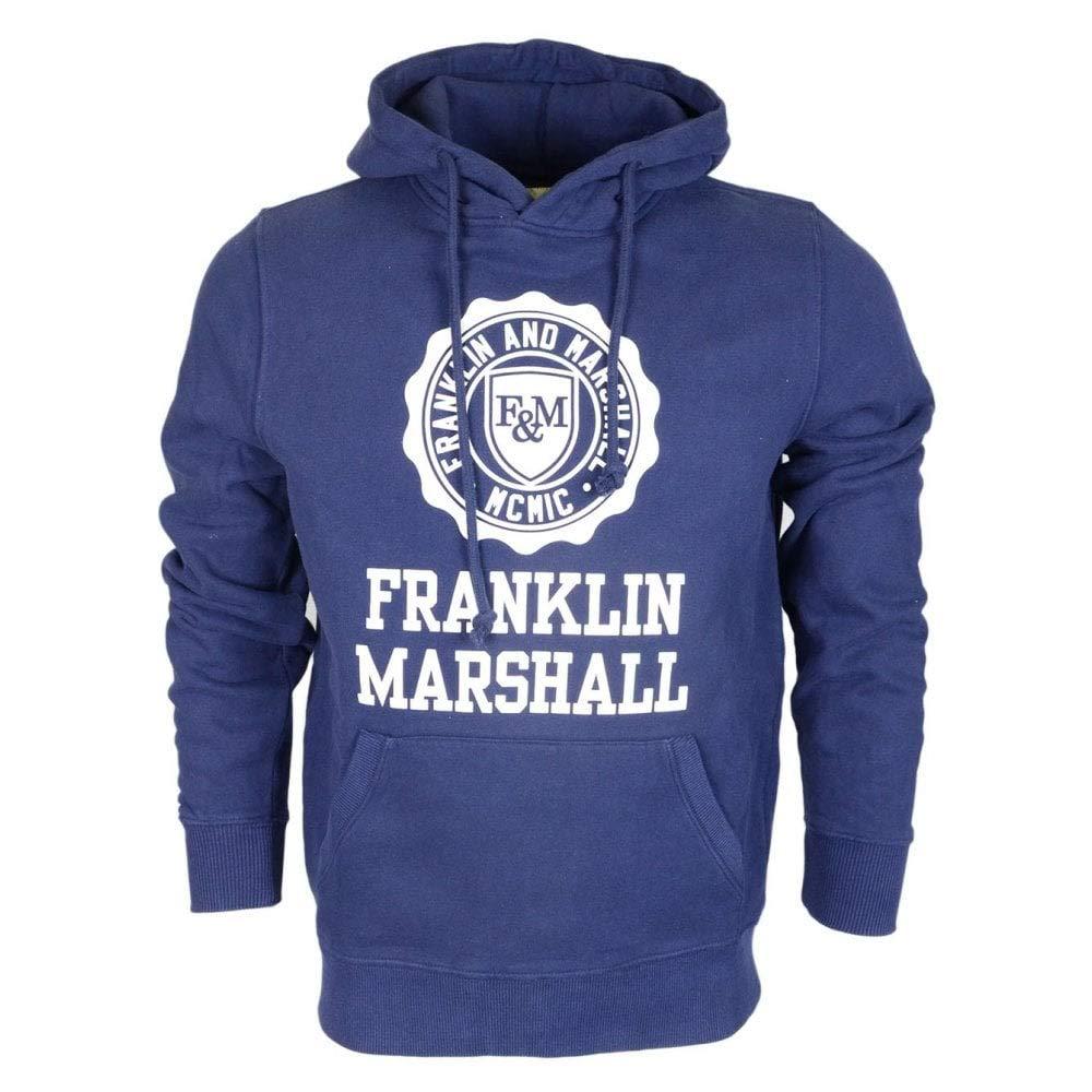 Franklin & Marshall Sudadera para Hombre Capucha 3 Colores Art. 065 a: Amazon.es: Ropa y accesorios