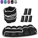 Prodigen 1 Pair 1 2 3.5 4 5 7 7.5 10 15 Lbs Adjustable Ankle Weights Set for Men Women Kids Ankle Wrist Weight for…