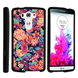 LG G3 Phone Case, Perfect Fit Cell Phone Case Hard Cover with Cute Design Patterns for LG G3 (D850, D851, D855, VS985, LS990, US990) by MINITURTLE - Floral Dream