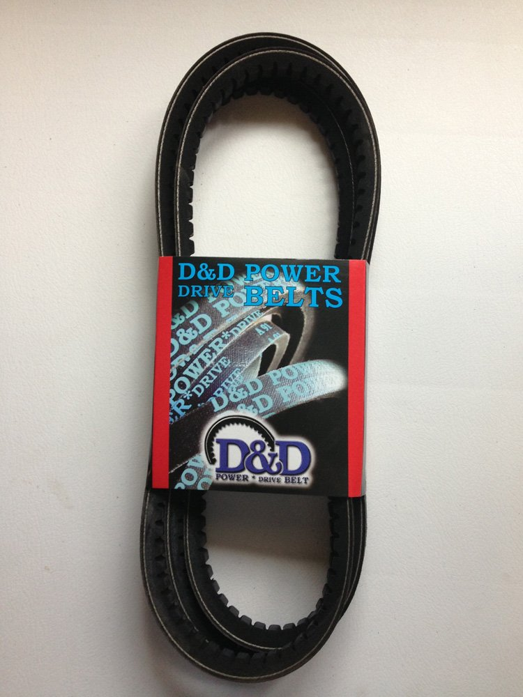 Rubber D/&D PowerDrive 13A1575 Metric Standard Replacement Belt