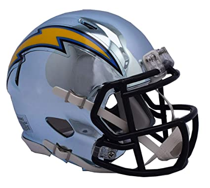 2d3d34dc Amazon.com: San Diego Chargers - Chrome Alternate Speed Riddell Mini ...