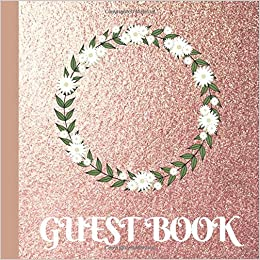 067f0c3c0019 Guest Book  Rose Gold Bridal Shower Guest Book Includes Gift Tracker and  Picture Memory Section to Create a Lasting Memory Keepsake  Romantic  Design  ...