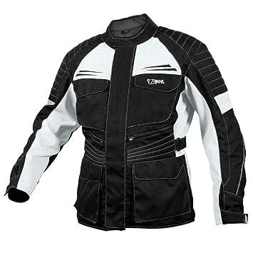 Jet Chaqueta Moto Hombre Textil Impermeable con Armadura Titan (L (EU 50-52), Plateado Negro): Amazon.es: Coche y moto