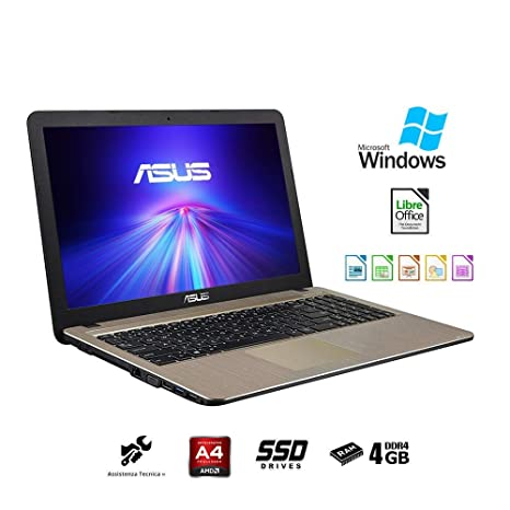 ASUS VivoBook Notebook, Pantalla 15,6 Pulgadas HD LED, AMD Dual ...