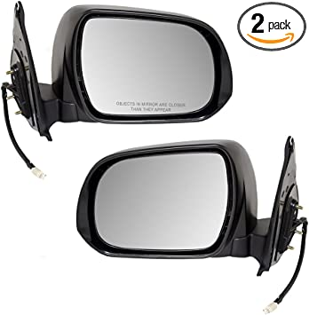 Drivers Power Side View Mirror Replacement for Toyota 87940-35811