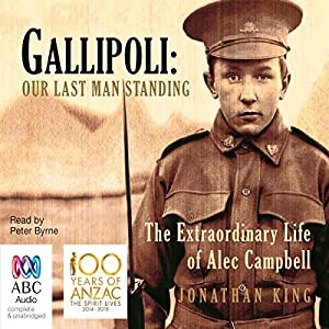 Gallipoli: Our Last Man Standing Audiobook