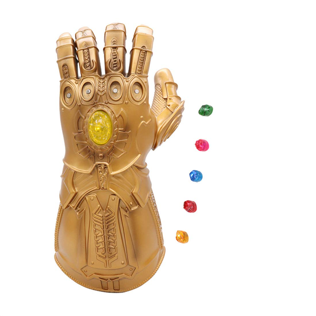 Whoami Novelty Thanos Glove Gauntlet Magnetic Separation Infinity Gems Adult Novelty Party Toy (Adult Separation Gauntlet)