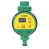 Asixx Temporizador de Irrigação de Jardim, Temporizador de Irrigação Eletrônica Inteligente LCD Temporizador Digital…