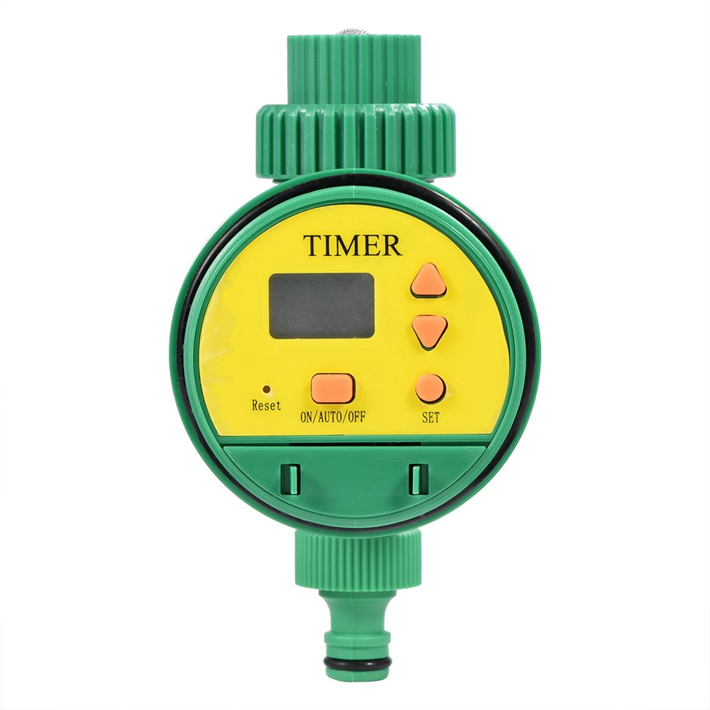 Temporizador de Riego, Intelligent Electronic LCD Digital Timer Controlador de Riego del JardíN Sistema de Riego Dioche