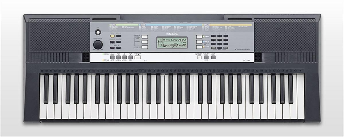 Yamaha YPT-240 - Teclado portátil, color negro: Amazon.es: Instrumentos musicales