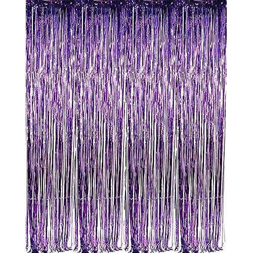 Purple Blue Birthday Decorations Amazoncom