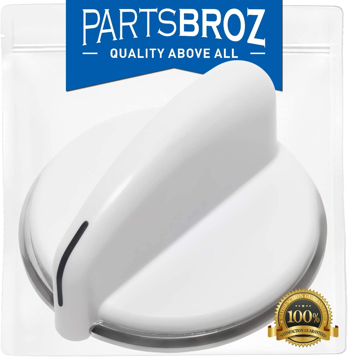 WE01X20380 Washer Control Knob for General Electric Washers & Dryers by PartsBroz - Replaces Part Numbers AP5805162, WE1M1034, 3198207 & PS8769914