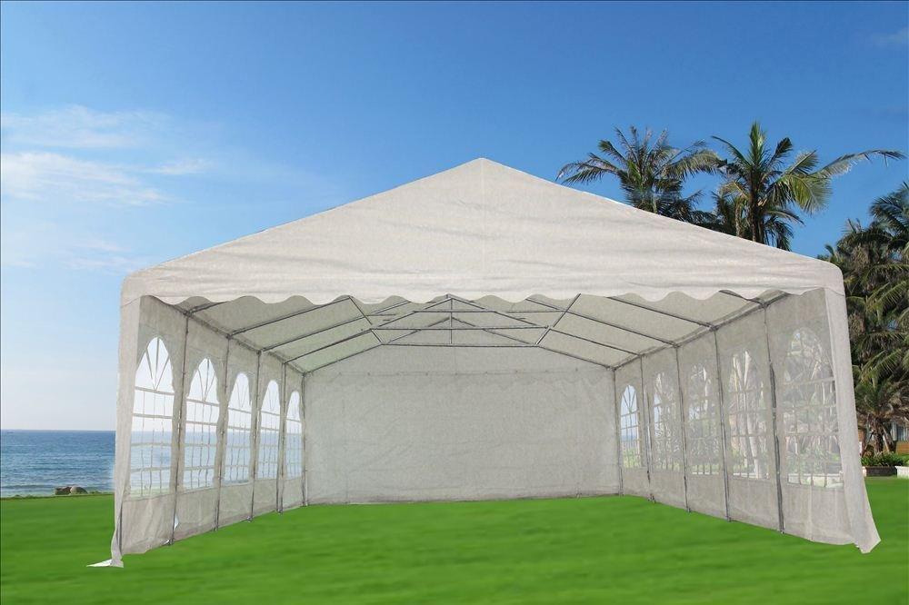 Amazon.com 32u0027x20u0027 PVC Party Tent - Heavy Duty Wedding Canopy Gazebo Carport - with Storage Bags - By DELTA Canopies Garden u0026 Outdoor & Amazon.com: 32u0027x20u0027 PVC Party Tent - Heavy Duty Wedding Canopy ...