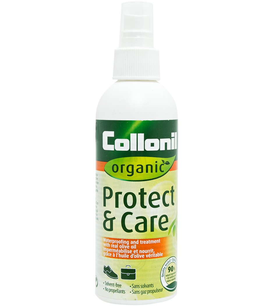 Collonil Organic Protect & Care with Real Olive Oil. Conditions, Protects From Dirt, and Waterproofs Designer Leather and Suede Shoes, Handbags and Clothes. Made in Germany