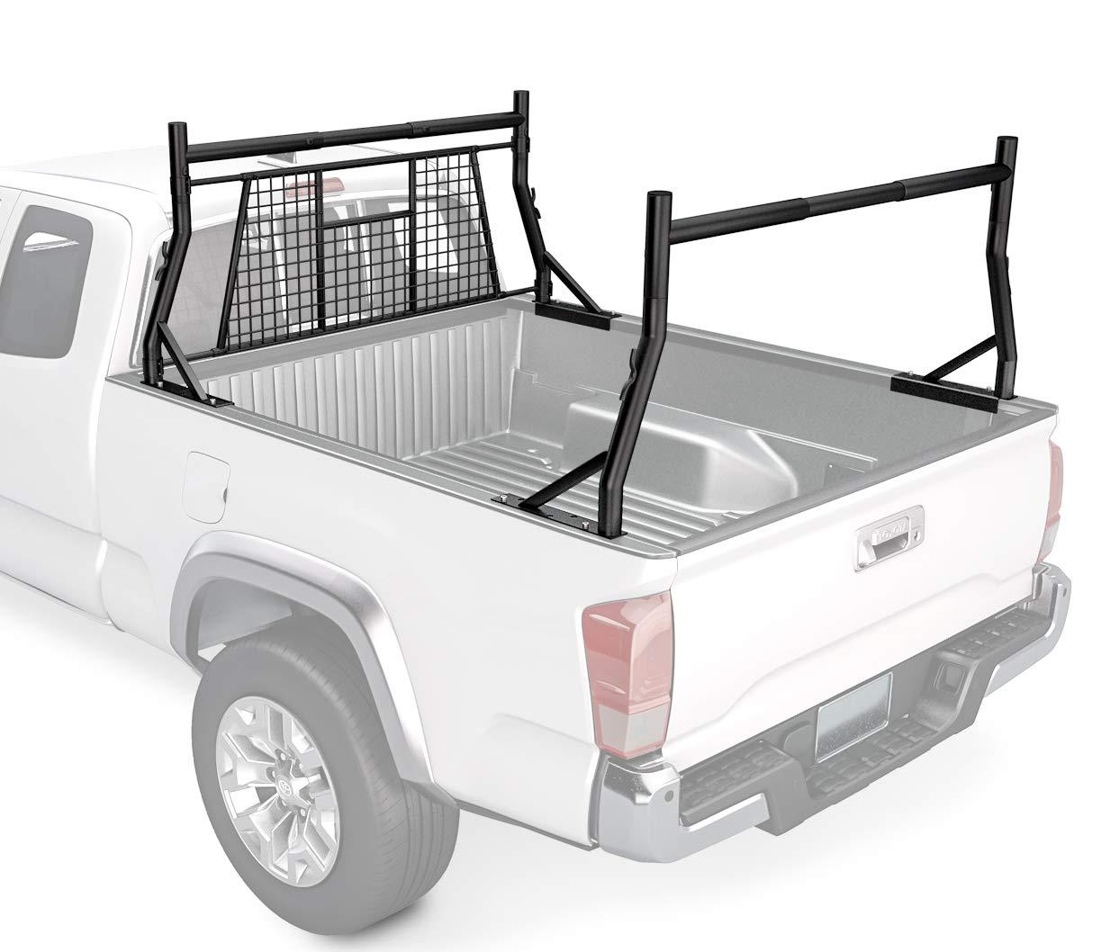 STKUSA Adjustable Bed Headache Ladder Full Size Truck Cargo