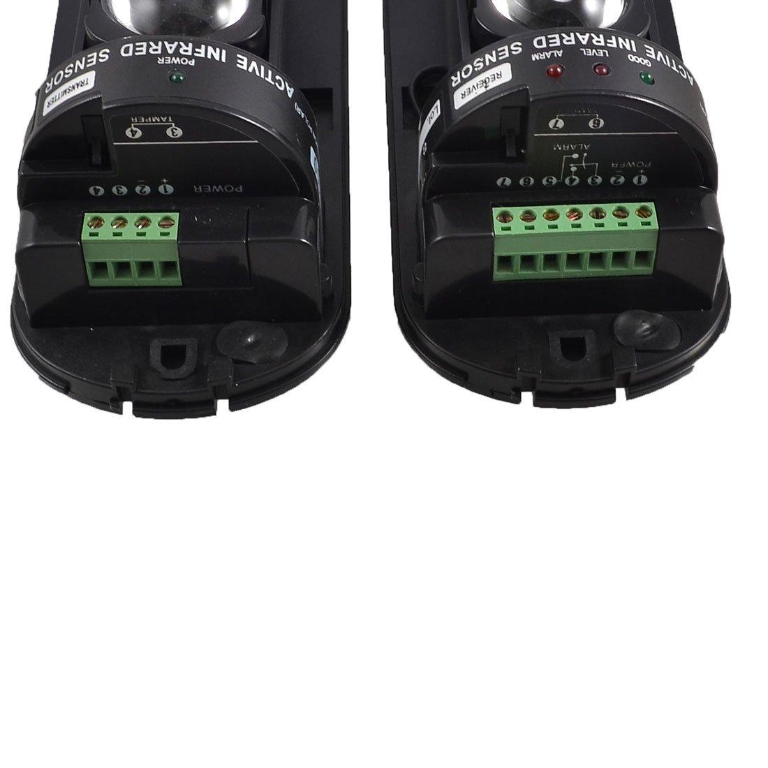 Amazon.com : uxcell Outdoor 100m indoor 300m Double Beam Security Active IR Detector Alarm ABT-100 : Doorbell Ring Detectors : Camera & Photo