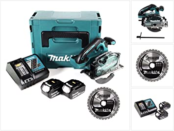 Makita DCS 553 RTJ - Sierra circular de mano (batería de ion de ...