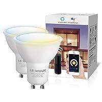LE LampUX Bombillas Inteligentes GU10, Bombilla WIFi Funciona