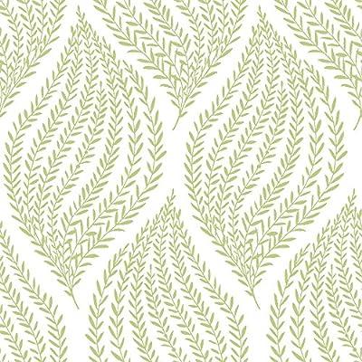 NuWallpaper Fern Peel and Stick Wallpaper