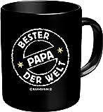 Fun Tee Tasse - Bester Papa der Welt - Eltern/Familie - einzeln im Geschenk Karton - zum Geburtstag