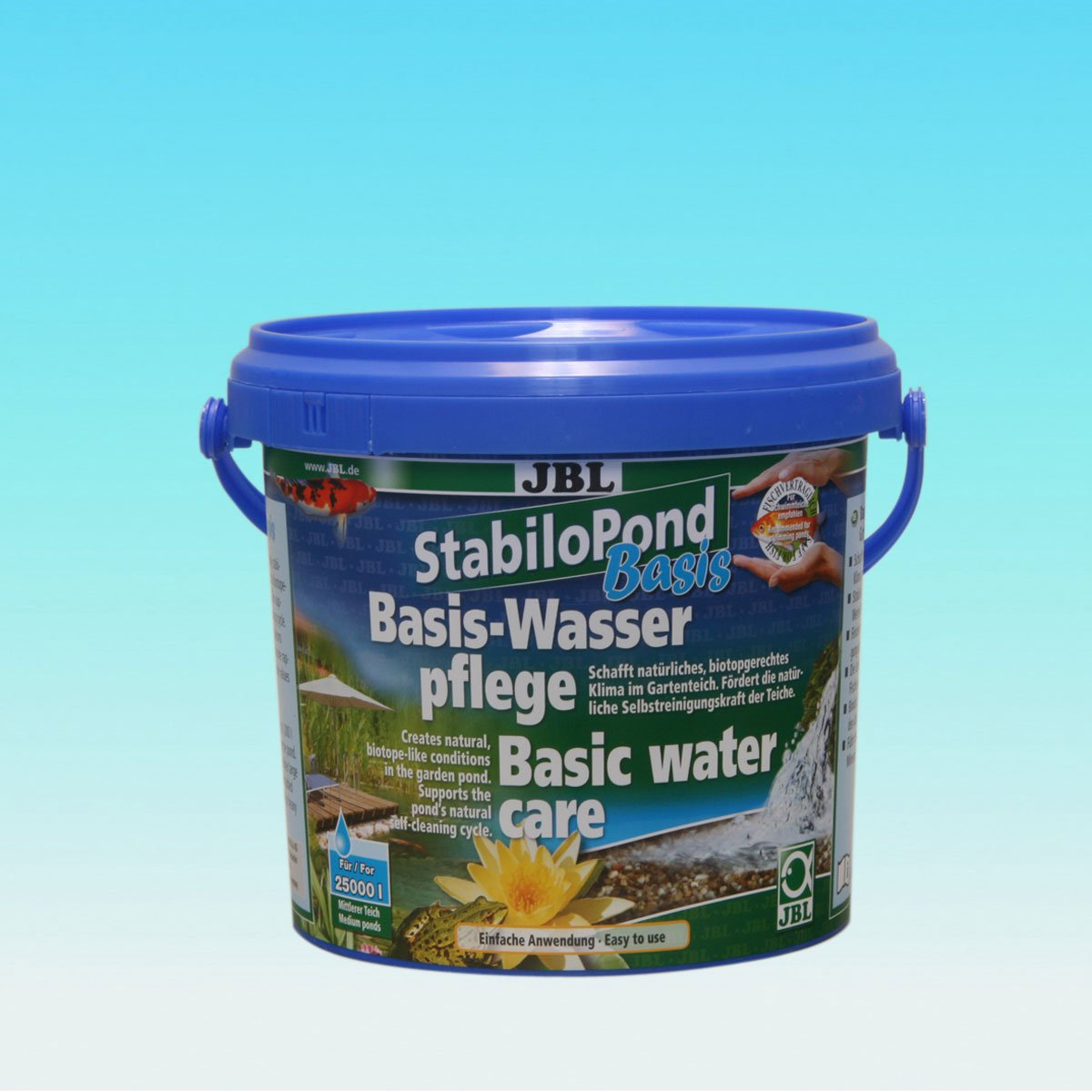 2.5 kg JBL StabiloPond basis 2,5 kg, Basic care product for all garden ponds