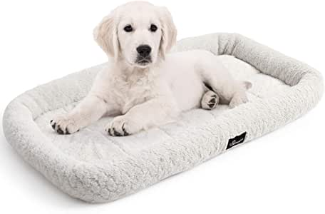"WANTRYAPET Pet Bed Dog Cat Mat Washable Soft Kennel Pad for Medium Small Puppy Dogs and Cats Perfect for Dog Crate, 30"" L x 20"" W"