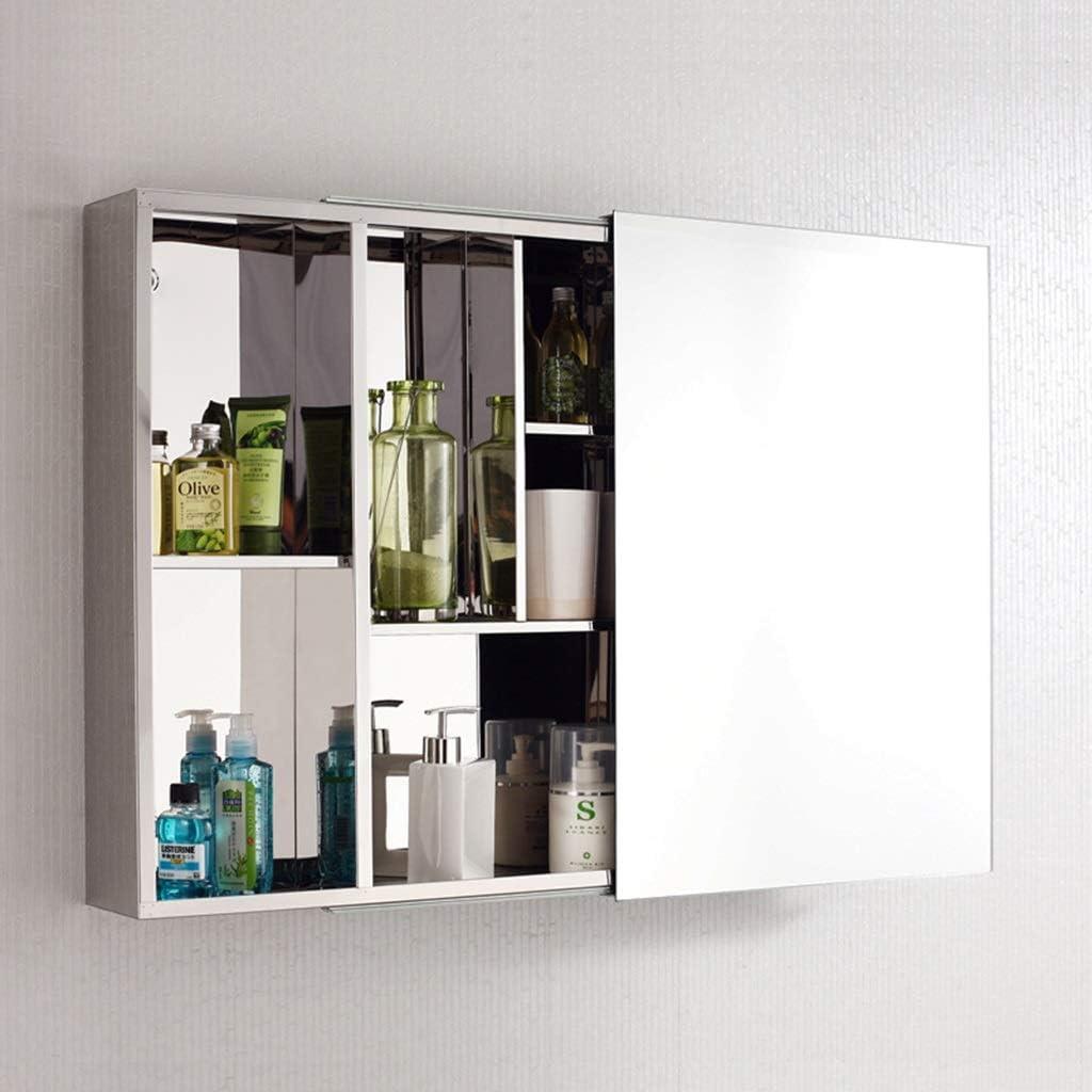 Mueble de baño con Espejo de Acero Inoxidable Mueble de baño con ...