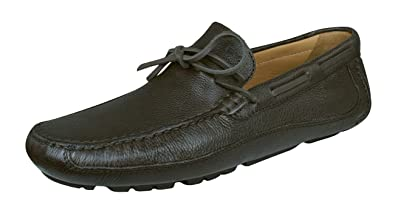 Geox Mens Shoes U Melbourne C Leather Moccasins-Brown-8