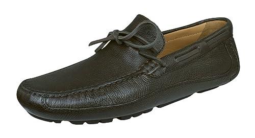 Geox U Melbourne C V Zapatos de Cuero Para Hombres/Mocasines: Amazon.es: Zapatos y complementos