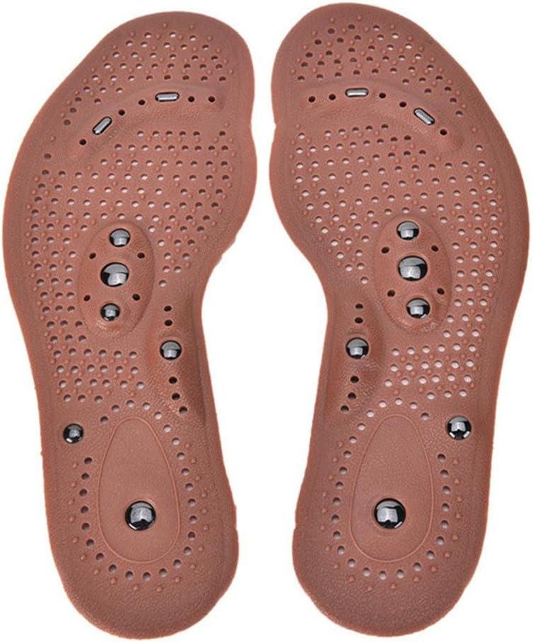 Ducomi SalutSol Plantillas Magnéticas Masajeadoras para Zapatos de Silicona - Medida 35 a 45 - Beneficios de la Magnetoterapia y Reflexología Plantar - Método Alternativo Cuidado de las Enfermedades