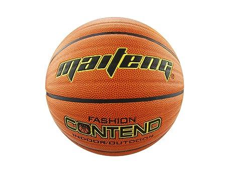PhysCool Wave Contend - Balón de baloncesto (piel sintética, talla ...