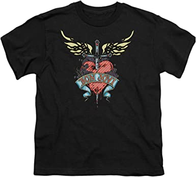 Famous Stars /& Straps Charcoal Heather Red War Stories Youth Kids Boys T-Shirt