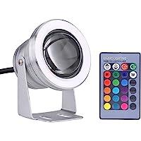 Foco LED Subacuático, 10W 12V RGB Foco LED