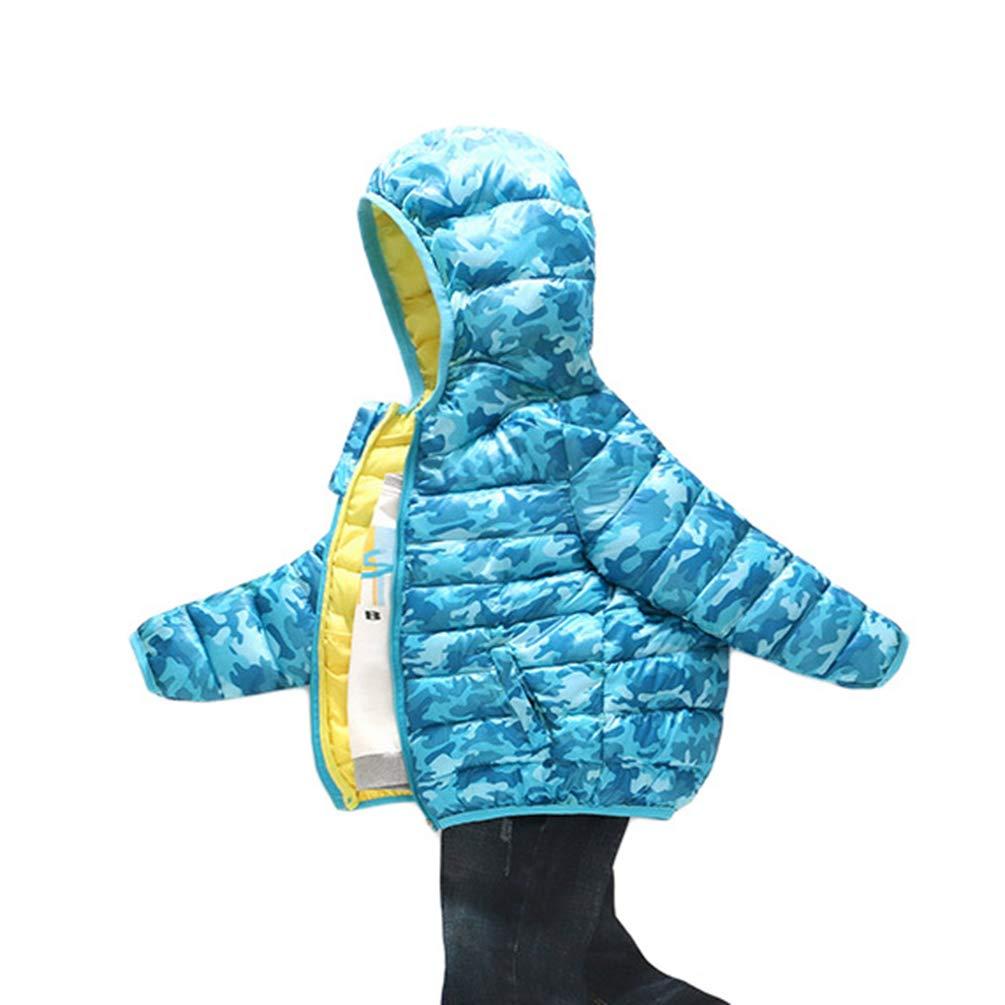 Baijiaye Baby Schneeanzug Jungen Strampler M/ädchen Winter Overall mit Kapuze Jumpsuit Outwear Dick Steppjacke