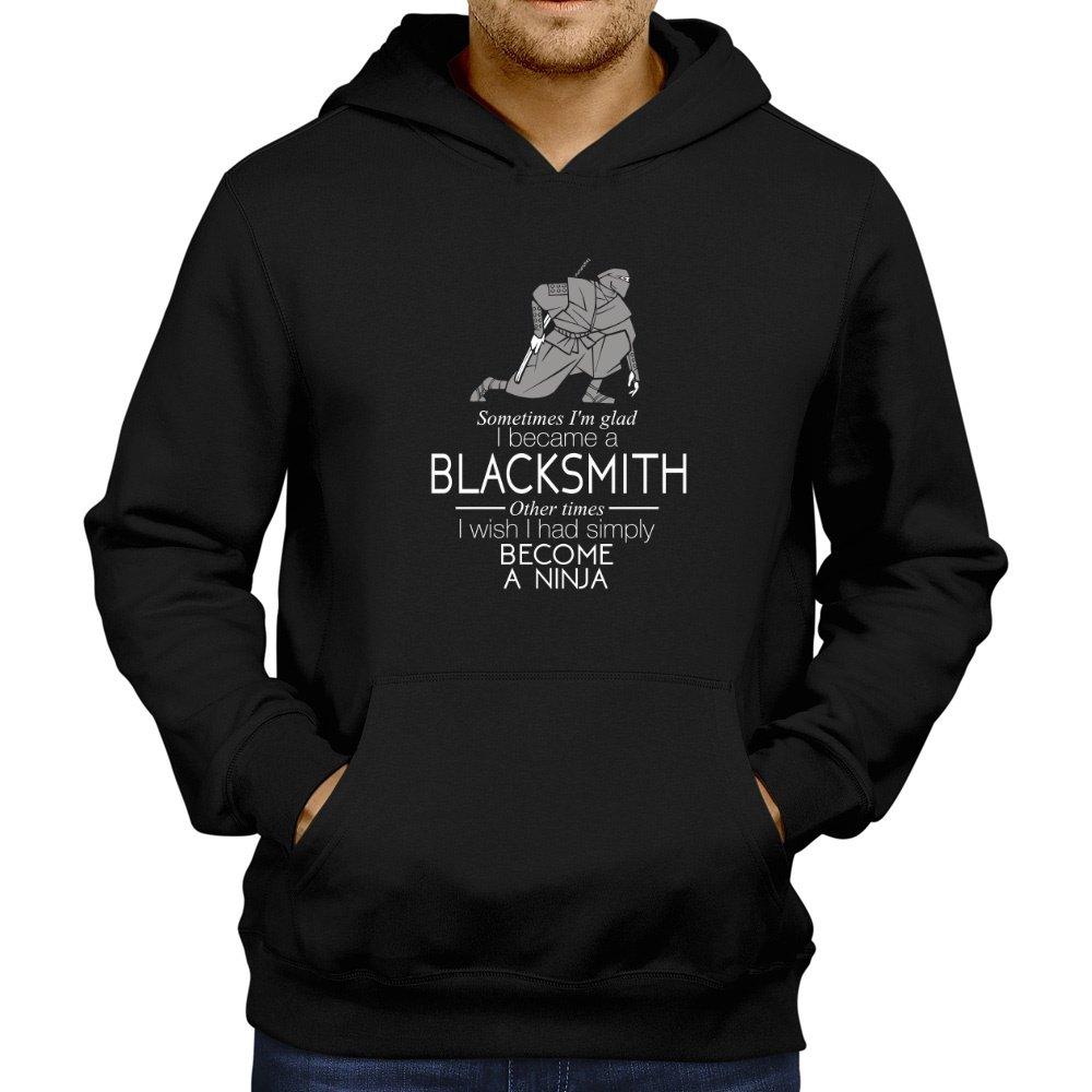 - Site Site Site Athletics Sometimes I'm glad I became a Blacksmith 2 Hoodie fa313d