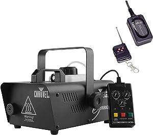 Chauvet DJ Hurricane 1200 H1200 Pro 1 Liter Fog Smoke Machine with FC-W Wireless Remote