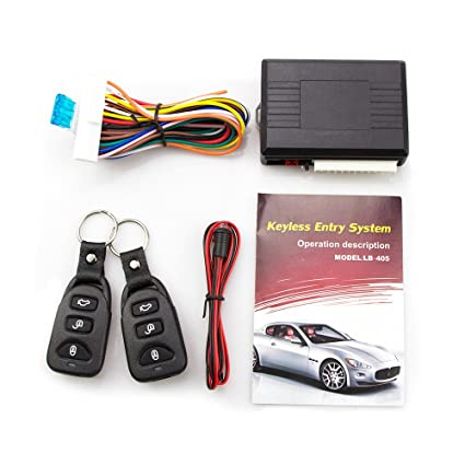 Automobiles & Motorcycles Professional Sale Central Keyless Door Lock Central Locking System With Car Remote Control Alarm Systems Remote Control Central Kit Locking Switch Electric Vehicle Parts