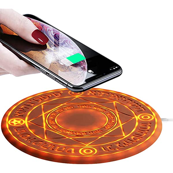 ALRY Fast Wireless Charger 10W,Ultra Thin Glass Transparent Wireless Charging Stand Compatible with iPhone Xs XR Max Ixr X 8//8P//Galaxy S9 S8 S7 Note 9//8 Huawei Mate20