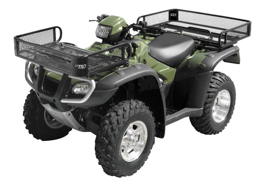 New Front & Rear ATV Rack Baskets 2000-2006 Honda TRX350 Rancher ATV